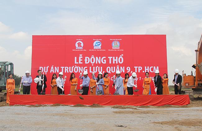 le-dong-tho-du-an-quan-9 KIM OANH GROUP ĐỘNG THỔ DỰ ÁN KHU DÂN CƯ TRƯỜNG LƯU, QUẬN 9