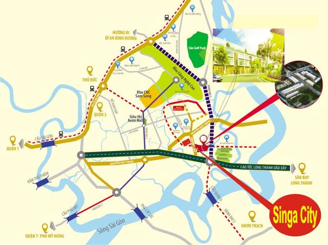 phoi-canh-du-an-singa-city-kim-oanh-quan-9 Khu đô thị Singa City Quận 9